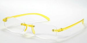 Casa Crystals & Jewelry CRG 3 Yellow Reading Glasses