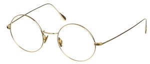 Dolomiti Eyewear ZNK1110 Round 24KT Eyeglasses