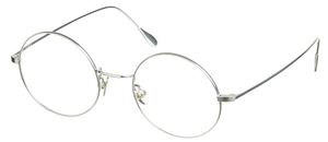 Dolomiti Eyewear ZNK1110 Round 24KT 24kt Sterling Silver / Surgical Stainless Steel
