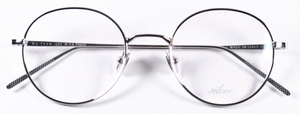 Dolomiti Eyewear ZNK1116 with 24Kt White Gold Eyeglasses