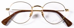 Dolomiti Eyewear ZNK1118 24Kt Gold 14Kt Bright Yellow Gold