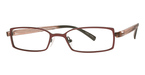 Royce International Eyewear Voyager Burgundy/Black