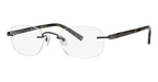 Totally Rimless TR 144 Gunmetal