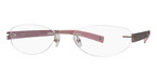 Totally Rimless TR 139 Gold & Mauve