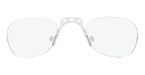 Adidas Optical Insert, Rimless Clear