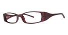 Modern Optical Abigail Burgundy