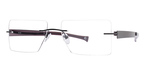 Totally Rimless TR 153 Black