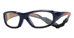 Liberty Sport MX-20 Baseball Royal Blue with Orange Highlights