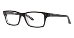 Ray Ban Glasses RX5225 Top BLACK on Transparent