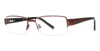 Modern Optical BIG Top Matte Brown