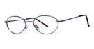 Modern Optical Dawn Satin Purple