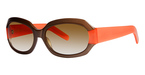 Vera Wang Spectator Bronze Orange