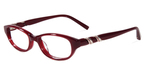 Jones New York Petite J218 Burgundy