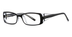 Continental Optical Imports See N' Be Seen 17 Black/Crystal