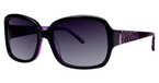 Vivian Morgan 8812 Black/Purple Leopard
