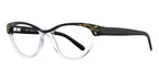 Miyagi LOLA 2539 Black and Clear/Gold
