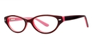 Modern Optical Joyful Burgundy/Pink