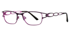 Vivian Morgan 8043 Plum/Hot Pink