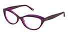 Lulu Guinness L881 Purple Tortoise