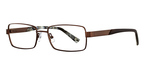 Marchon M-WALL STREET (210) Satin Brown