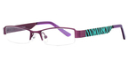 K-12 4064 Purple/Truq Zebra