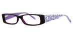 K-12 4068 Purple/Blue Leopard