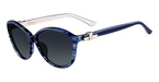 Salvatore Ferragamo SF645S (410) Striped Blue