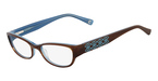 Marchon M-ROYALE (214) Brown Havana Light Blue