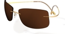 Silhouette 8642 Brown Polarized