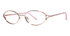 Modern Optical Iris Rose/Silver