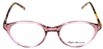 Anglo American AA488 Transparent Mauve with Amber Havana Temples TR19/AH