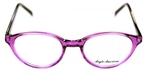 Anglo American AA488 Transparent Purple with Black Temples TR22/BLK