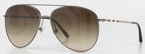 Burberry BE3072 Gunmetal with Brown Gradient Lenses
