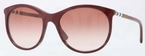 Burberry BE4145 Bordeaux with Brown Gradient Lenses