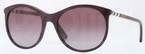 Burberry BE4145 Violet with Violet Gradient Lenses