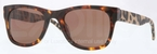 Burberry BE4161 Havana with Brown Lenses