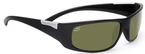 Serengeti Sport Classics Fasano Shiny Black with Polar PhD 555nm Lenses