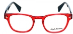 Anglo American Fitz Opal Red w/ Black Temples OP9/BLK
