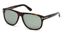 Tom Ford FT0236 Dark Havana with Green Mirror Lenses