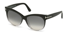 Tom Ford FT0330 Black with Gradient Smoke Lenses