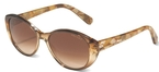 Velvet Jude Gold with Brown Fade Lenses