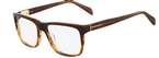 Marchon M-Franklin (214) Brown Havana Fade