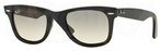Ray Ban RB2140 Wayfarer Black w/ Crystal Grey Gradient Lenses