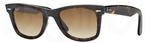Ray Ban RB2140 Wayfarer Tortoise w/ Crystal Brown Gradient Lenses