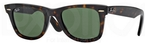 Ray Ban RB2140 Wayfarer Tortoise w/ Crystal Green Lenses