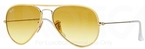 Ray Ban RB3025JM Arista Gold/Yellow with Yellow Gradient Brown Photochromic Lenses