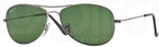Ray Ban RB3362 Cockpit Gunmetal w/ Polarized Crystal Green Lenses  004/58