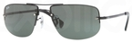 Ray Ban RB3497 Black with Green Lenses