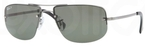Ray Ban RB3497 Gunmetal with Polarized Green Lenses