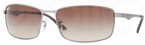 Ray Ban RB3498 Gunmetal with Brown Gradient Lenses